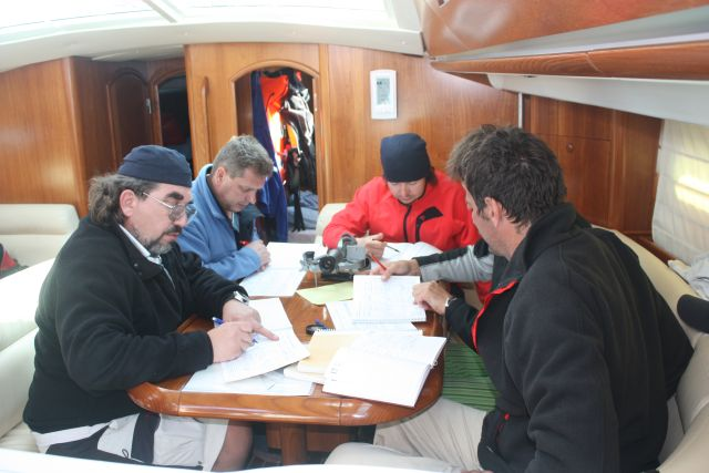 Theory and practice aboard